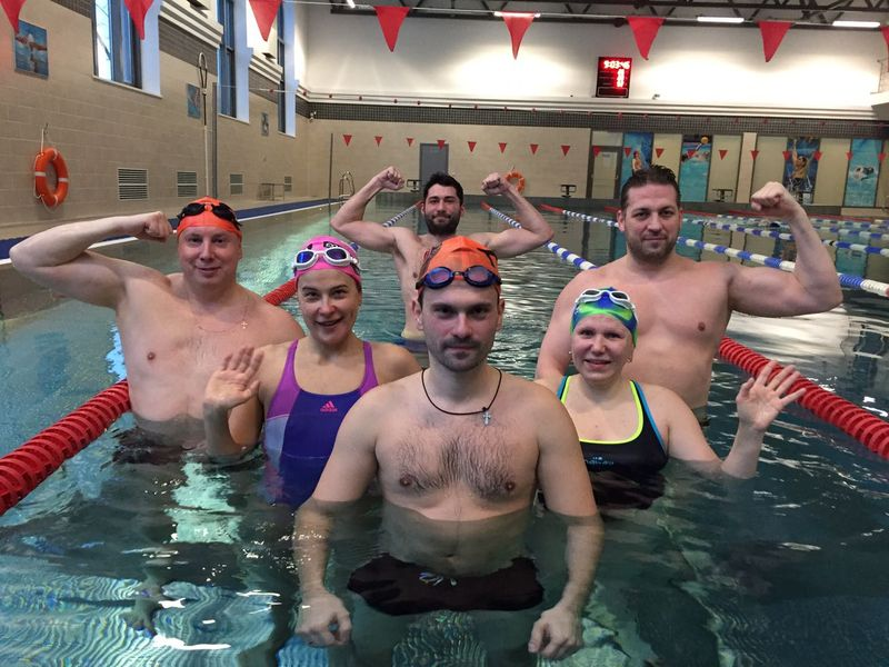 школа плавания для взрослых в питере