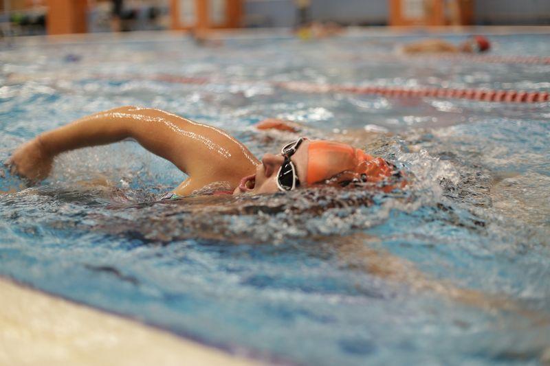 Соревнования по плаванию в бассейне 2018