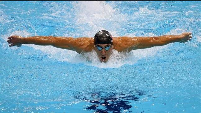 плавание баттерфляем