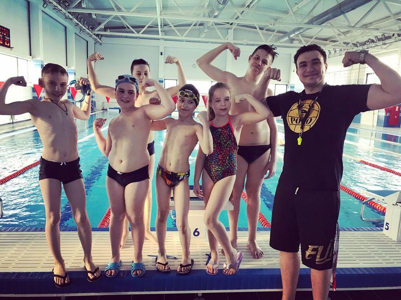 детская секция по плаванию
