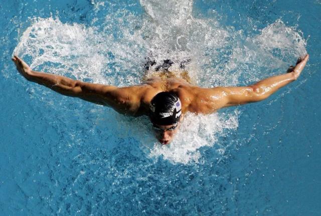 как плыть баттерфляем