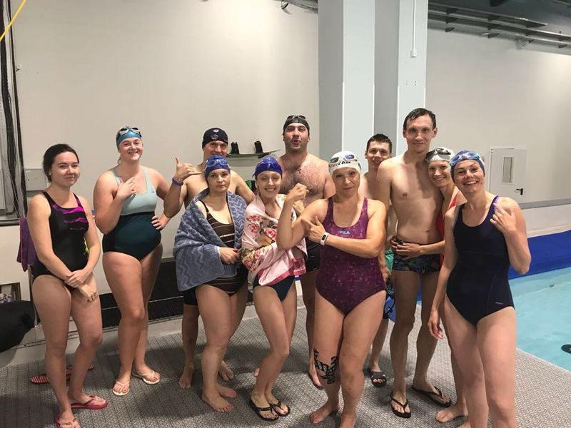 Корпоративное обучение плаванию
