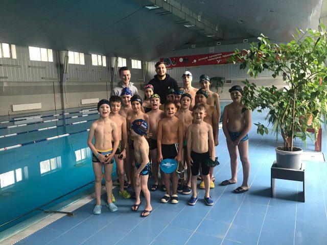 Школа плавания для детей