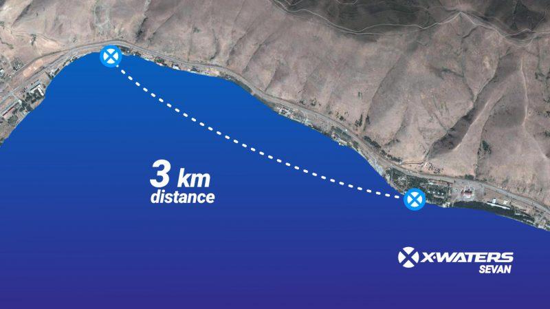 Дистанция X-Waters Sevan 2020
