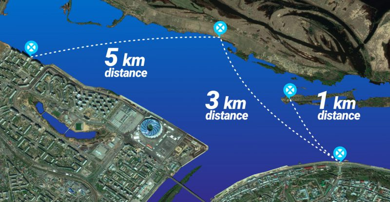 Дистанции X-Waters Volga 2020